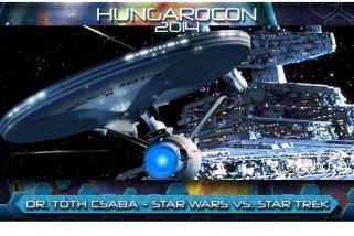 Dr. Tóth Csaba: Star Wars vs. Star Trek – felvétel