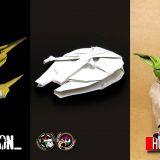 A Falcontól a Lépegetőig  – Star Wars Origami a Légiókkal!