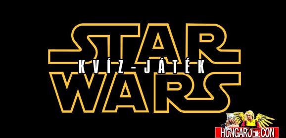 Star Wars Kvíz-játék a HungaroConon